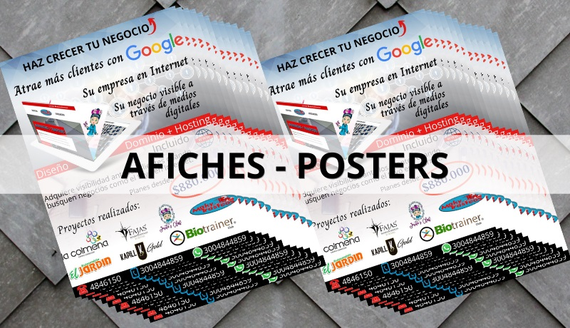 afiches posters